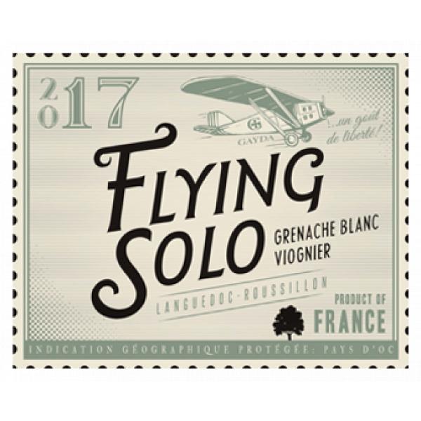 étiquette Flying Solo Grenache Blanc