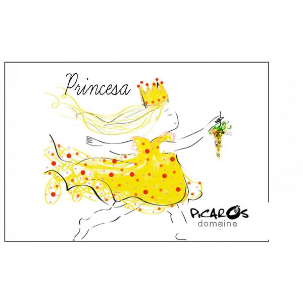 étiquette princesse picaros