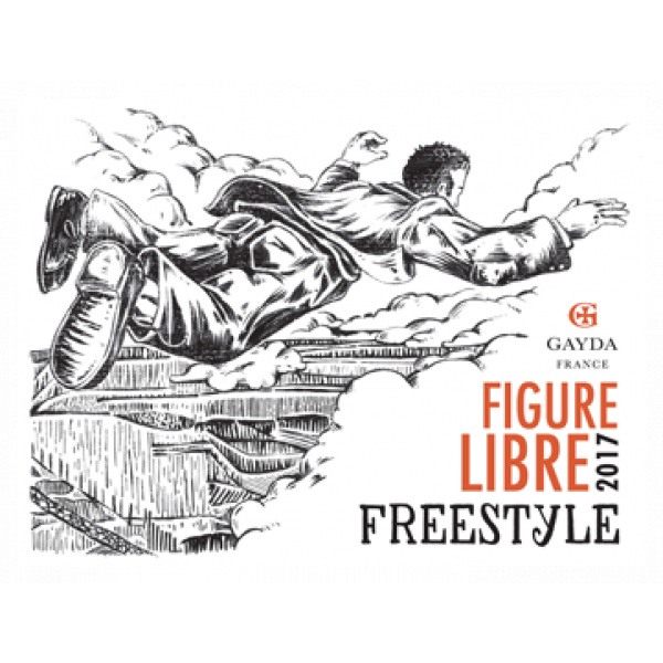 étiquette Freestyle Rouge