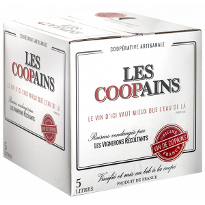 Bib Les Coopains Blanc 2018-Castelbarry-0