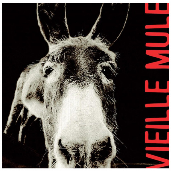 Vieille mule Jeff Carrel